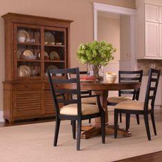 ethanallencom radial table Ethan Allen furniture interior