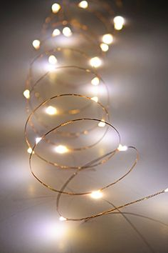copper wire outdoor battery operated led light string 10 warm white
