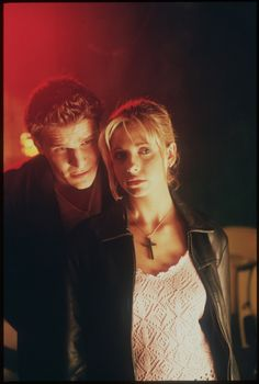 As much as I adore Spike, Buffy & Angel belong together.