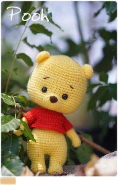 Crochet Bee, Kawaii Crochet, Cute Crochet, Crochet Dolls Free Patterns, Amigurumi Patterns, Bead Patterns, Knitting Patterns Free, Yarn Crafts, Sewing Crafts