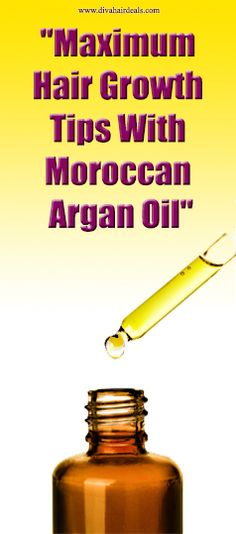 You can use Argan Oil for styling or repair of damaged dull, dry hair with broken and split ends through the infusion of the Argan oil's vitamins and other essential nutrients. Did you know that Argan oil is scientifically proven to be a good product for hair re-growth and cell regeneration? It improves the strength and quality of the hair. I really love this!