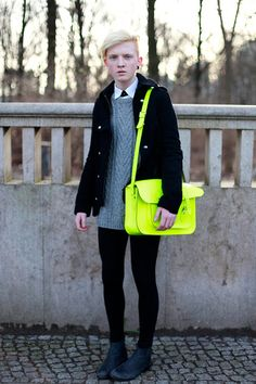 Bright's new black? We don't know but it sure looks fab! Kudos to this #asos look. #FB #Style