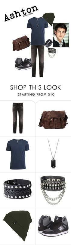 """Ashton ~An OC of Mine~"" by zeezeeskye on Polyvore featuring Nudie Jeans Co., H&M, Emporio Armani, Billabong, DC Shoes, women's clothing, women, female, woman and misses"