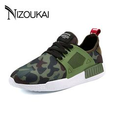 a4e4c226ba3b Men non-leather Casual Shoes Spring Autumn summer mens Footwear Men Lace-Up  Camouflage shoe Zapatillas Hombre chaussures homme