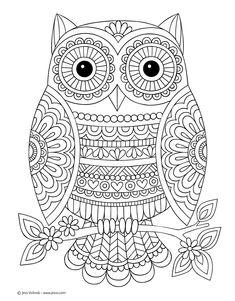 Mandala Owl Coloring Pages. 30 Mandala Owl Coloring Pages. Free Cute Owl Coloring Page Printable Adult Coloring Pages, Mandala Coloring Pages, Coloring Pages To Print, Coloring Book Pages, Free Coloring, Coloring Sheets, Notebook Doodles, Mandala Drawing, Color Activities
