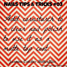 Nails Tips & Tricks #03