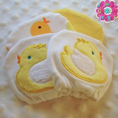 Adorable Baby Duck Mittens!