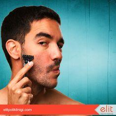 """Erkeklerin en büyük sorunlarından birisi de sakal üstü kıllardır. Siz de """"Elit bir dokunuşla"""" istenmeyen sakal üstü kıllardan kurtulun.  #sakalüstükıl #estetik #elitpolikliniği #güzellik #bakım #bakımlıerkek"""