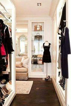 Walk in closet heaven.