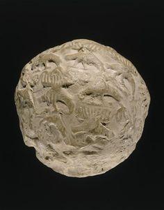 bulle-enveloppe avec empreinte de sceau (oiseaux) Suse. 3300 av JC.