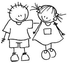 Resultado de imagen de dibujo muñeco palo niño