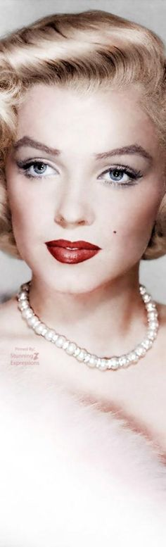 Marilyn Monroe; Such a Spectacular Beauty.