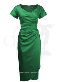 Dolce Vita Evening Dress - Emerald
