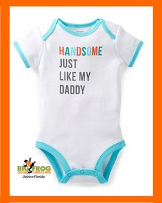 #Handsome just like Daddy, get yours at #BigFrog of #Valrico.