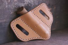 This practical sheath is specifically designed for the popular No. 8 model classic Opinel knife. (At the ...