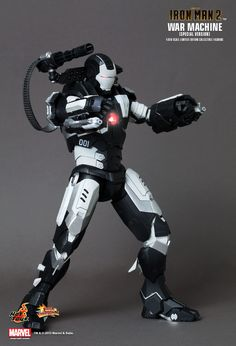 Hot Toys : Iron Man 2 - War Machine (Special Version) 1/6th scale Limited Edition Collectible Figurine