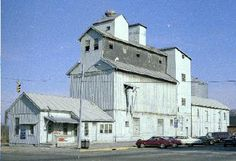 The old grain elevator on Water St. in Chillicothe, Ohio.