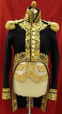 French Napoleonic Marshals Uniform 1800's reproductions -----this is an exact replica for Star Trek NG 4th episode 1st season.