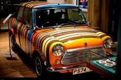 Paul Smith: The Multi-Stripe MINI Exhibition in Singapore