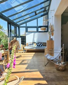House Extension Design, Glass Extension, Extension Designs, Building Extension, Garden Room Extensions, House Extensions, Lean To Conservatory, Conservatory Design, Conservatory Furniture