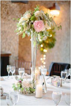 Photographer: Jacqui Cole Photography; Wedding reception centerpiece idea
