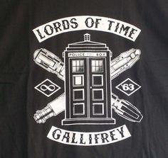 NEW TeeFury Lords of Time Doctor Who Gallifrey standard t-shirt #TeeFury #ShortSleeve