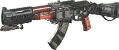 The Volk (referred to as AKE in the game files) is an energy assault rifle in Call of Duty...