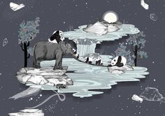 Sandra Dieckmann Illustration: DREAMSCAPE