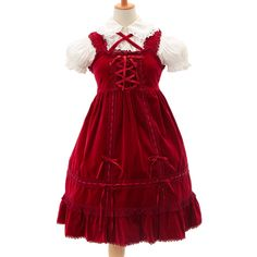 http://www.wunderwelt.jp/products/detail6594.html ☆ ·.. · ° ☆ ·.. · ° ☆ ·.. · ° ☆ ·.. · ° ☆ ·.. · ° ☆ Red velor dress BABY THE STARS SHINE BRIGHT ☆ ·.. · ° ☆ How to order ↓ ☆ ·.. · ° ☆ http://www.wunderwelt.jp/user_data/shoppingguide-eng ☆ ·.. · ☆ Japanese Vintage Lolita clothing shop Wunderwelt ☆ ·.. · ☆ #egl