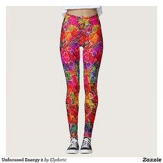 Discover Abstract leggings at Zazzle! Classic Outfits, Cool Outfits, Fashion Outfits, Purple Leggings, Women's Leggings, Christmas Leggings, Holiday Outfits, Look Cool, Workout Leggings