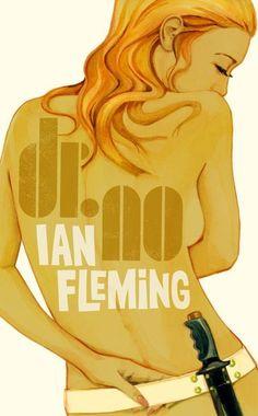 04-15 ilustraciones de las chicas de James Bond por Michael Gillette