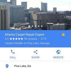 "2 Likes, 1 Comments - Atlanta Carpet Repair Expert (@atlantacarpet) on Instagram: ""Atlanta Carpet Repair Expert has officially become Metro Atlanta's highest rated carpet repair…"""
