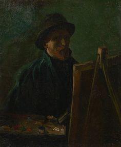 Vincent van Gogh (1853 - 1890),  Self-Portrait as a Painter Paris, September - November 1886