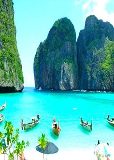 Phuket, Thailand: Let's Travel. This remings me of the film The Beach and makes me want to go travelling... Backpacking trip to Thailand next please!