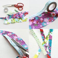 "Tutorial nastro di tessuto – tutorial tape""fabric"""