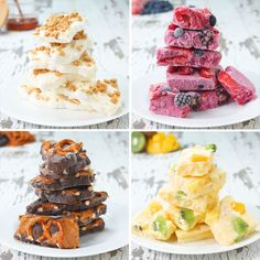 Yogurt Bark 4 Ways by Tasty