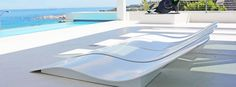 Congratulations to TECHNO SURFACES for winning our monthly theme contest, Corian® Furniture! Their client in Camps Bay wanted a set of sun loungers that were strong enough to stand the strongest of winds. Corian® was the perfect solution.
