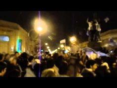 Festejos paso de Argentina a la final Mundial 2014 Carhue