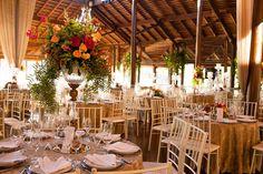 Decoração casamento Clube Santa Monica. Foto Agnaldo Teixeira