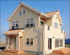 外観 Japanese House, Exterior Design, My House, Interior Decorating, Mansions, Studio, House Styles, Room, Home Decor
