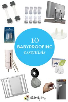 Top 10 must have baby products!