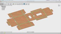 Fusion 360 Tutorial – Foldable Boxes Architecture Portfolio, Architecture Diagrams, Sheet Metal Drawing, Architectural Presentation, Architectural Models, Architectural Drawings, Solidworks Tutorial, Cad Software, 360 Design