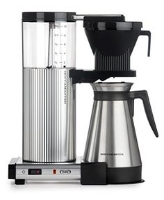 Moccamaster KBGT 10-Cup Coffee Brewer with Thermal Carafe, Polished SilverMoccamaster KB 741 10-Cup Coffee Brewer with Glass Carafe, Brushed SilverMoccamaster K 741 10-Cup Coffee Brewer with Glass Carafe, Matte SilverMoccamaster KBT 10-Cup Coffee Brewer with Thermal Carafe, Polished SilverMoccamaster … Continue reading →
