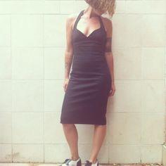DOLCE & GABBANA dress black size 40