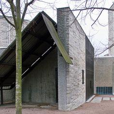 bobofeed on tumblr: n-architektur: Hoppets kapell, Östra kyrkogården, Malmö Sigurd Lewerentz, 1943 Photographed by Anders Bengtsson