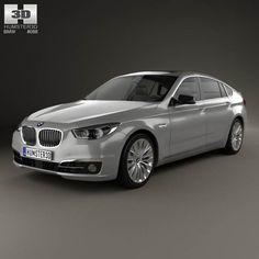 ab22df30a345 3D model of BMW 5 Series (F07) Gran Turismo 2014
