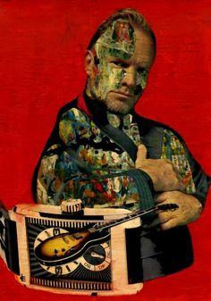"""Saatchi Art Artist CARMEN LUNA; Collage, """"19-Collagemania. Sting."""" #art"""