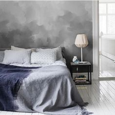 Bedroom envy #mrperswall by interior4all presented by SuperiorCustomLinens.com