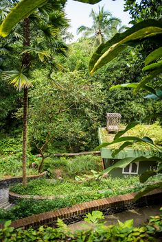 Peeking from the bushes, our beautiful treatment center below is covered with lush vegetation which brings calm and peace to your body and mind. - Check out and follow our sister company @oneworldretreats to know more about Balinese people, their unique culture and luxuriant nature! #bali #baliretreats #beautiful #ayurveda #ayurvedic #ayurvedicretreat #oneworldayurveda #balispirits #panchakarma #instanature #healthretreat #beautifuldestinations #instahealth #amazingview #prettypicture…
