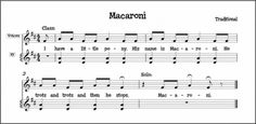 """Macaroni"" singing game that emphasizes pitch-matching, sol-mi melody, and steady beat bordun. Preschool Music, Music Activities, Teaching Music, Teaching Resources, Singing Games, Singing Lessons, Singing Tips, Learn Singing, Elementary Music Lessons"